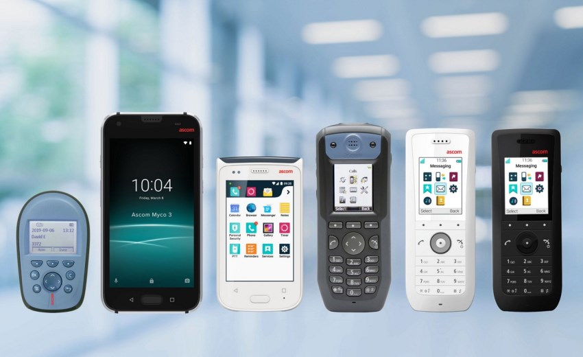 Ascom mobile devices