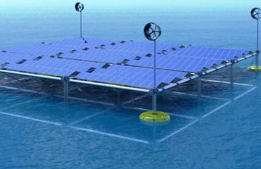 Sinn Power: Piattaforma galleggiante modulare