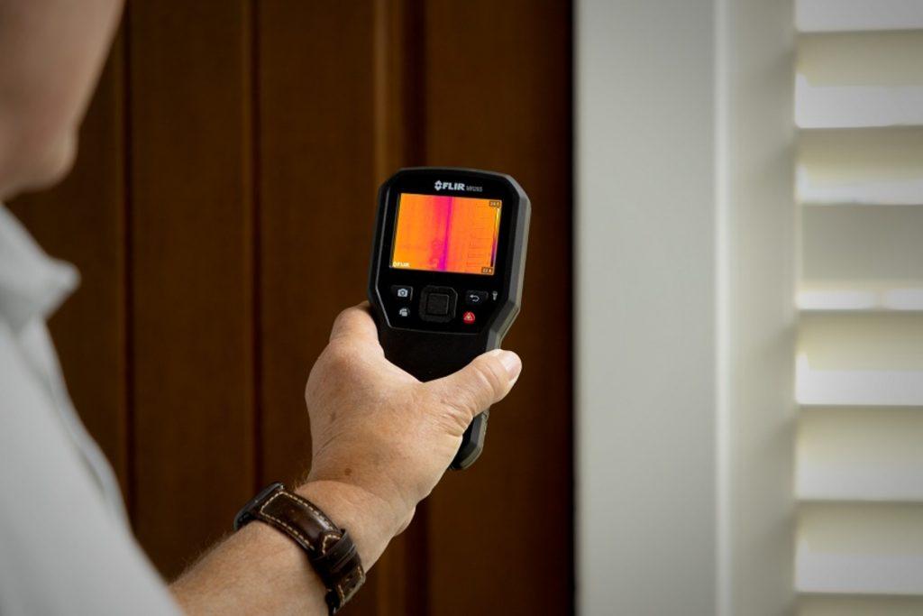 igrometro immagine termica